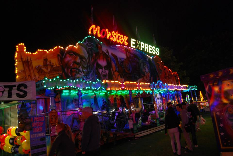 kayes fun fairs monster express